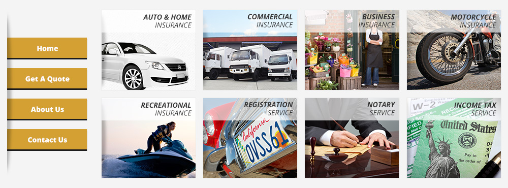 Auto, RV/Motorcycle, Commercial Auto & Business Insurance - California -  Crown Reinas Insurance Agency